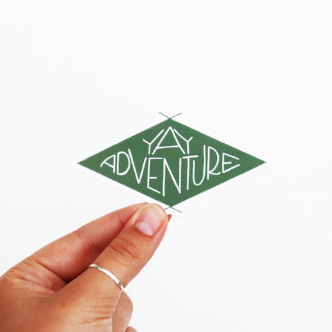 Yay Adventure Sticker