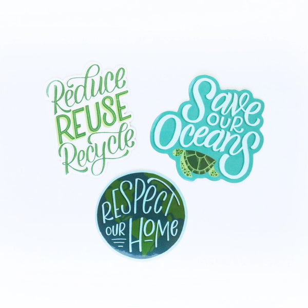 Environmentalist Sticker Pack