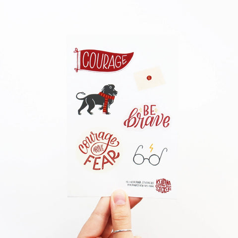 Gryffinhouse Sticker Sheet