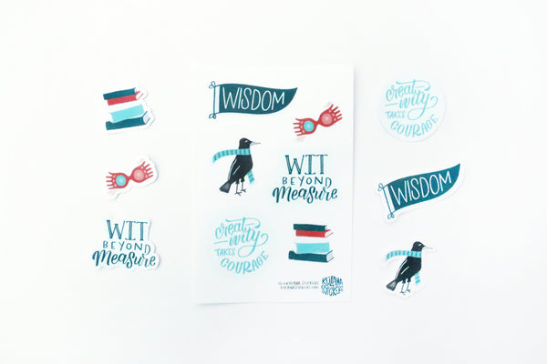 Ravenhouse Sticker Sheet