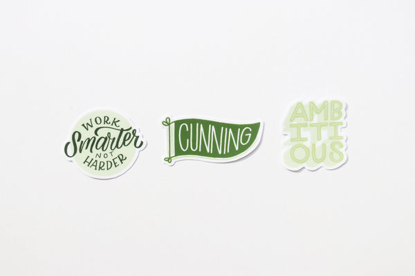 Slytherhouse Sticker Sheet