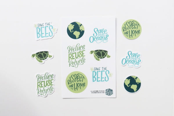 Environmentalist Sticker Sheet
