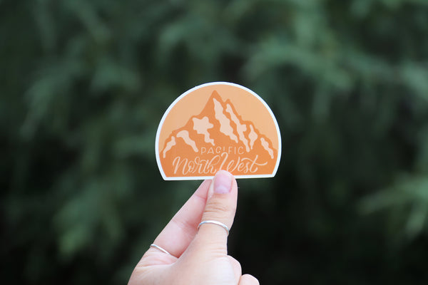 Pacific North West Daytime Sticker