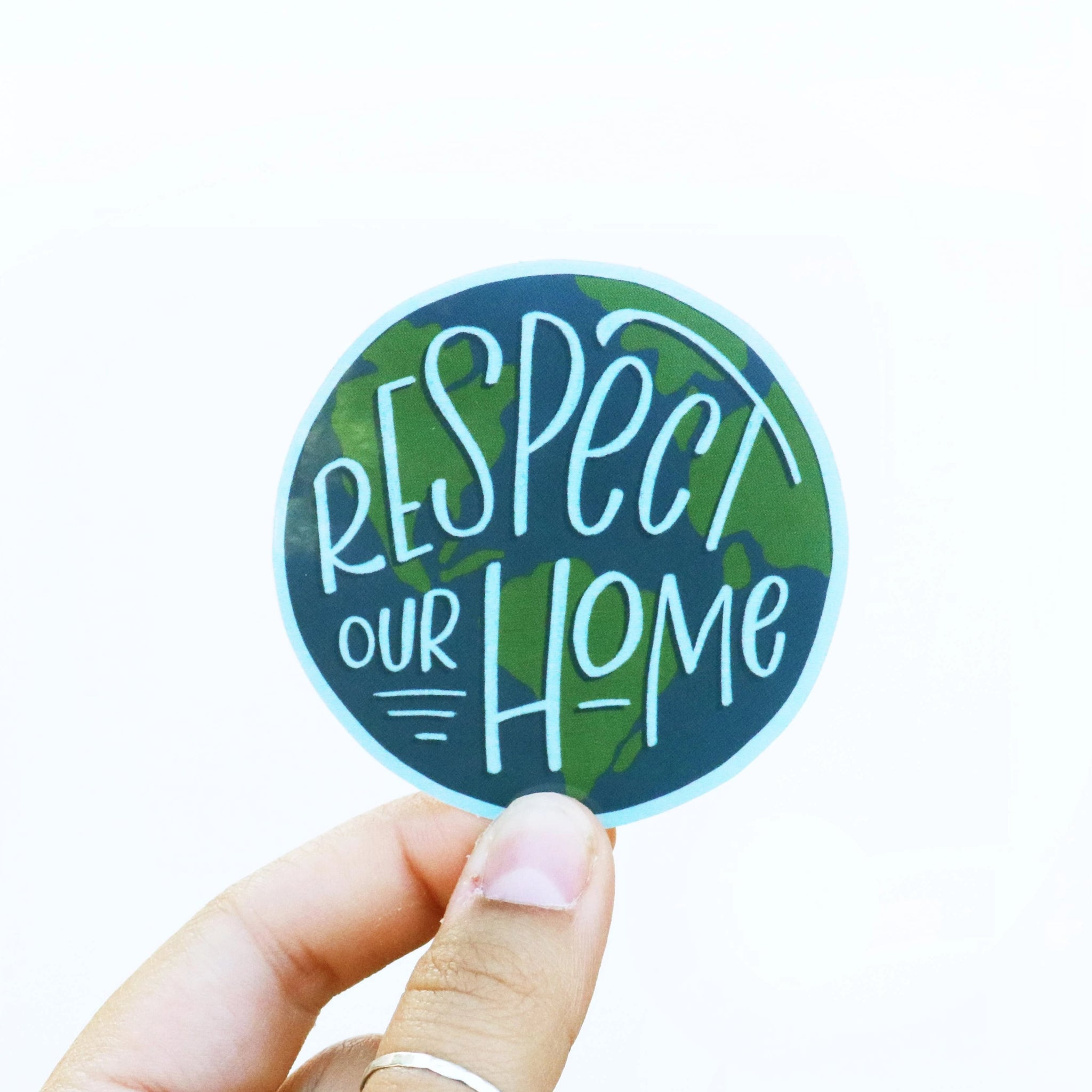 Respect Our Home Sticker