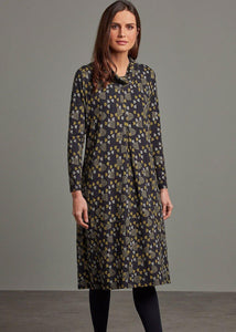 Adini Half Moon Print Jolyn Dress