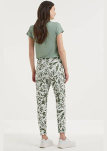Slim Fit Patterned Trousers