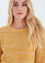 Load image into Gallery viewer, Fransa Mustard Knit Jumper