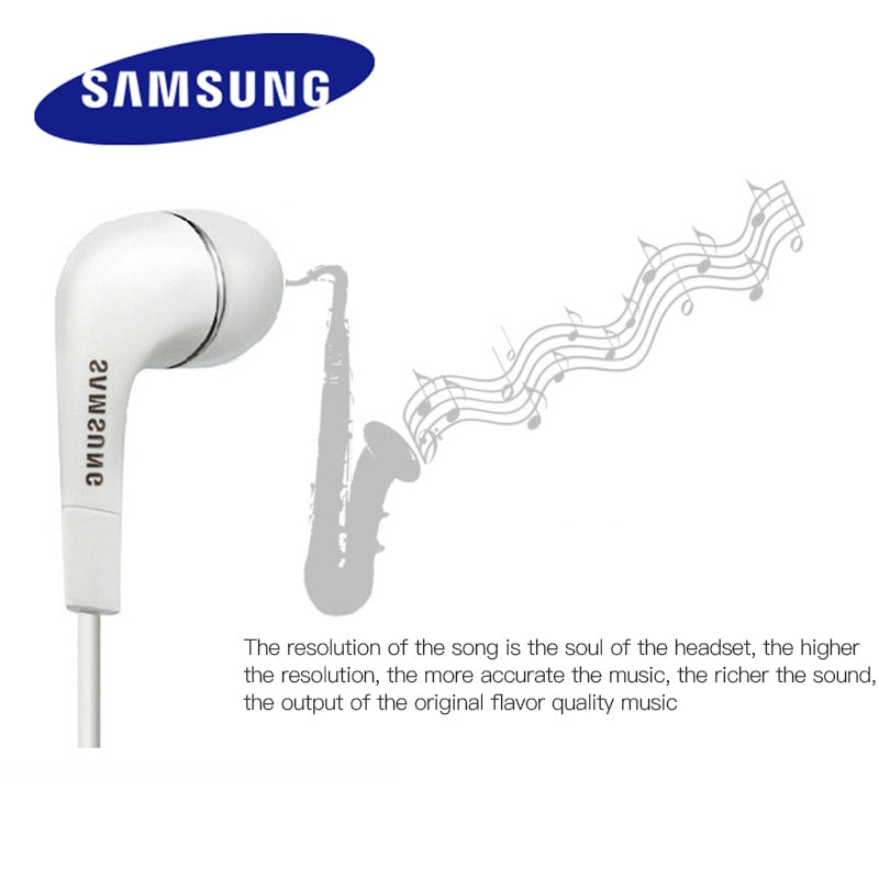 Samsung Earphones EHS64 Headsets With Built-in Microphone 3.5mm In-Ear Wired