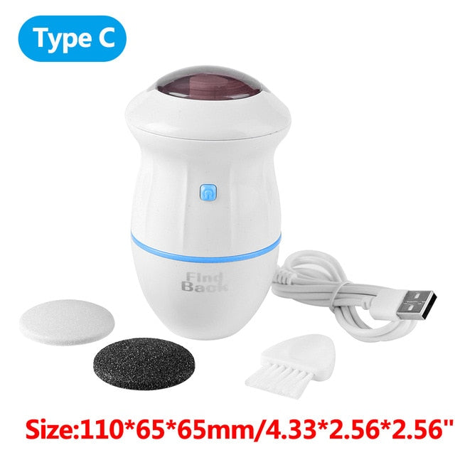Electric Foot File Grinder Callus Remover for Foot Pedicure