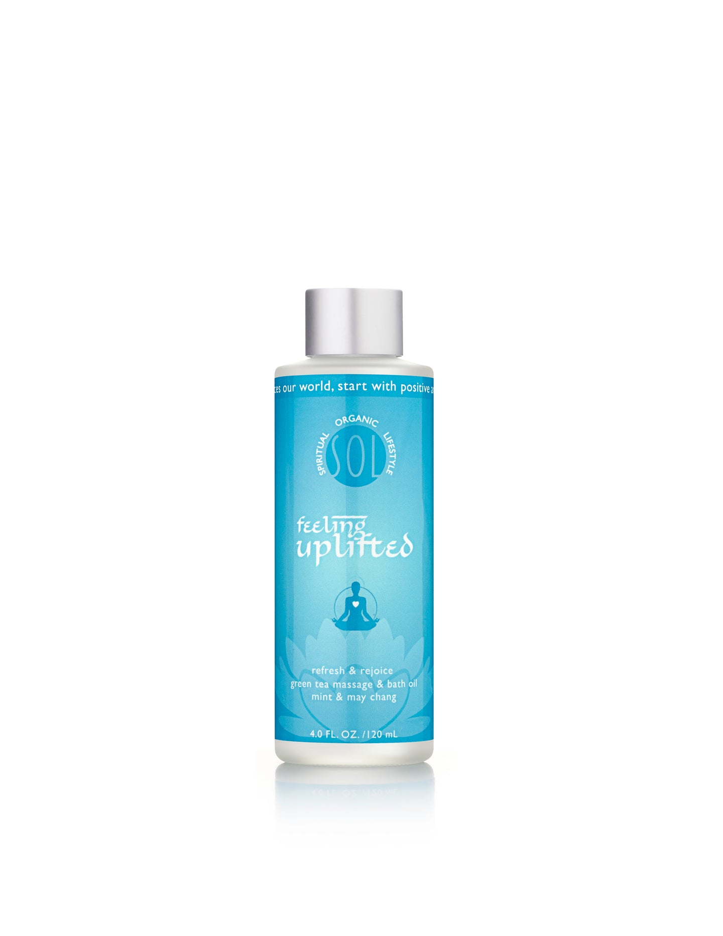 Feeling Uplifted Refresh & Rejoice Green Tea Massage & Bath Oil
