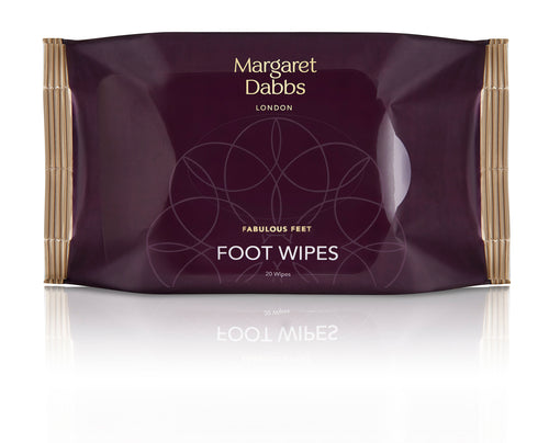 Foot Cleansing Wipes - 20 pieces