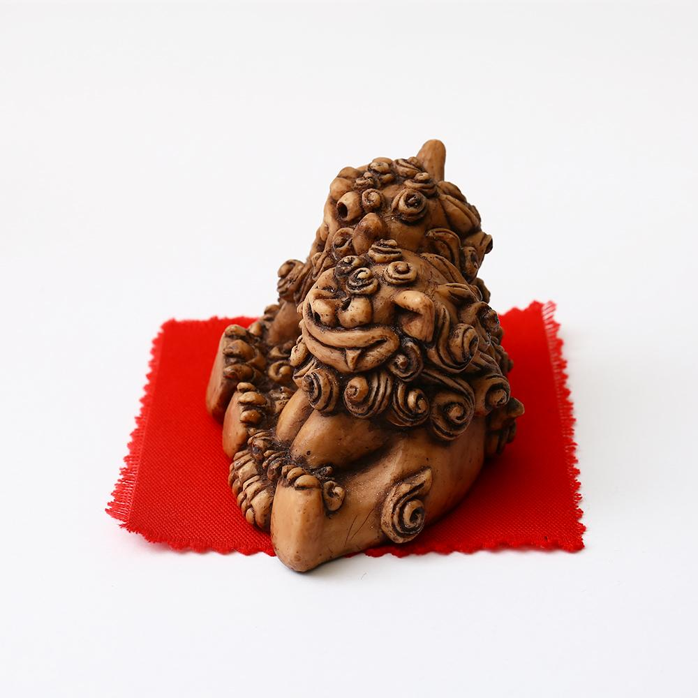 Shisa Statues ~ Married Shisa ~ Male and Female Pair