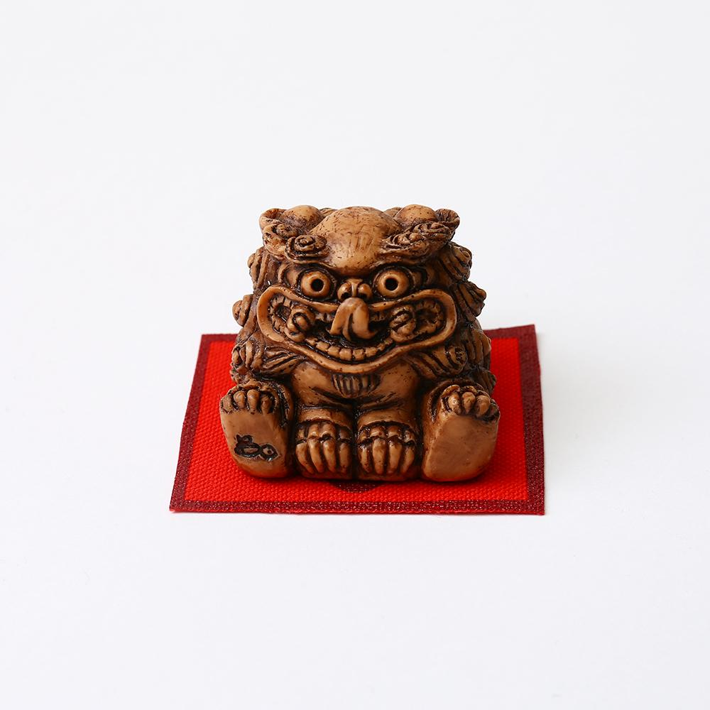 Shisa Statues ~ Mischievous Male Shisa ~ Large or Small Size