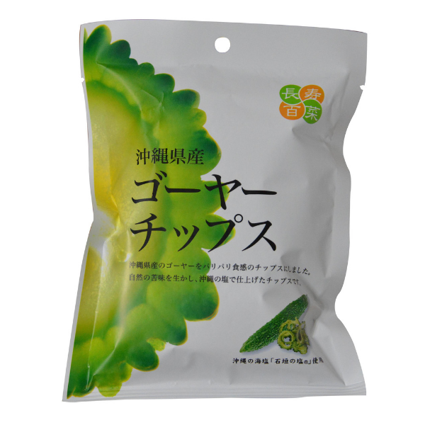 Veggie Chips ~ Okinawan Style Dried Veggies ~ Goya or Purple Sweet Potato