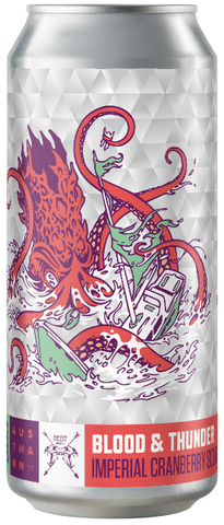 Blood & Thunder - Imperial Cranberry Sour (24*44cl Cans)