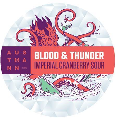 Blood & Thunder - Imperial Cranberry Sour (20L KeyKeg)