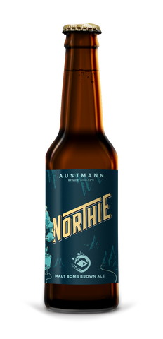 Northie Brown Ale (12*33cl Bottles)