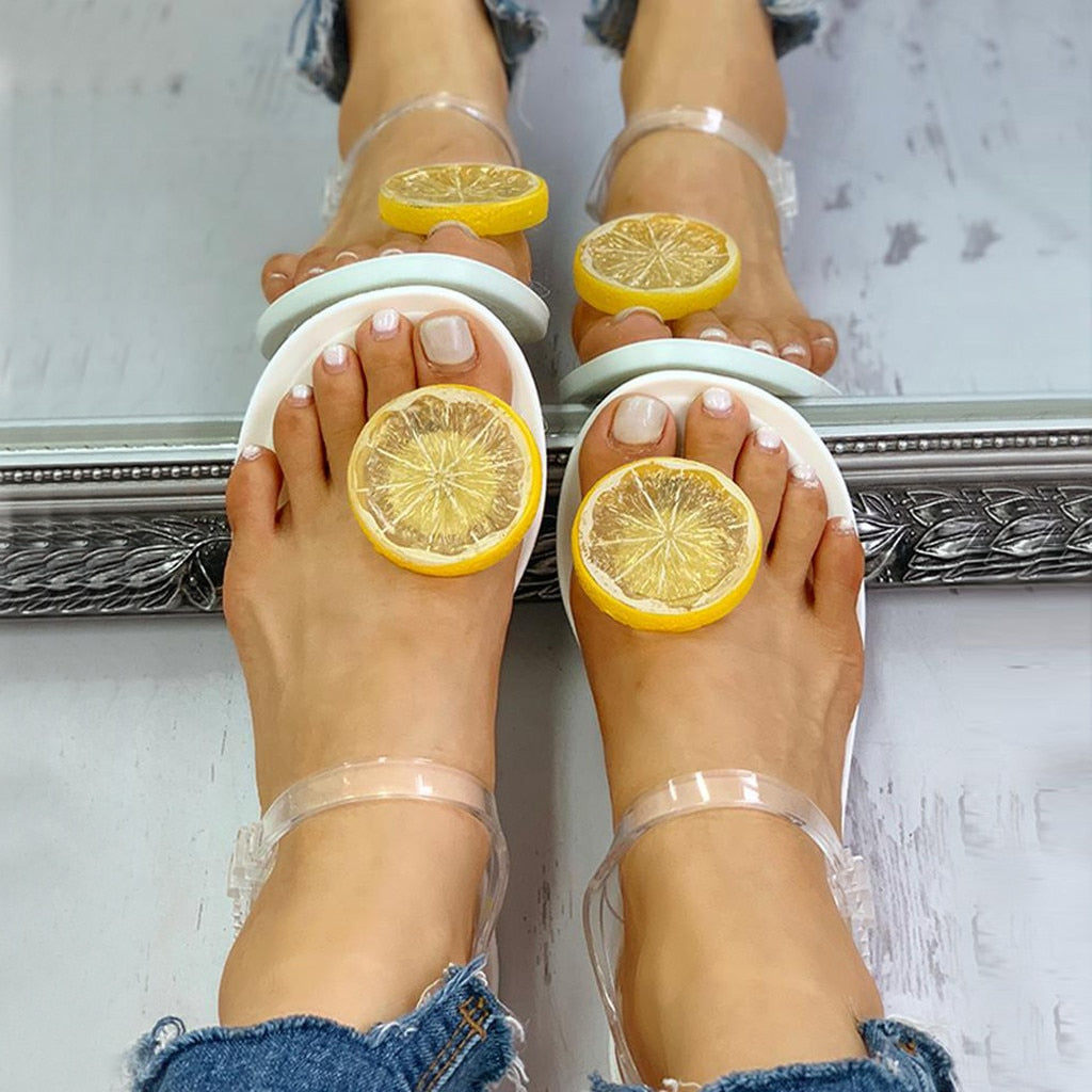 Lemon Lime Sandal