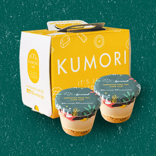 Okinawa Milk Tea Cake Cup (box of 4)