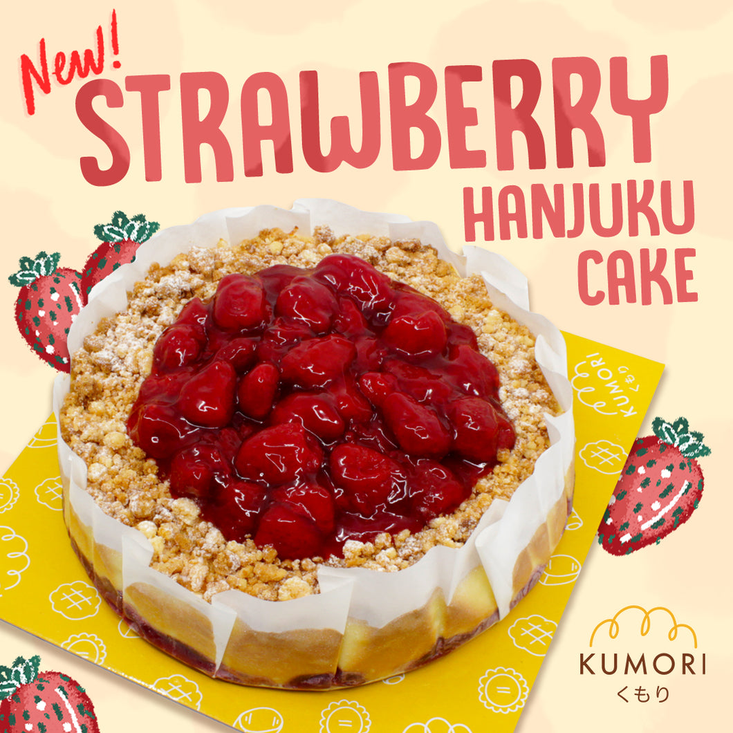 Strawberry Hanjuku Cake