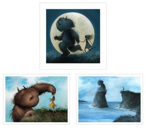 3 New 'Timed Edition' Mini Prints