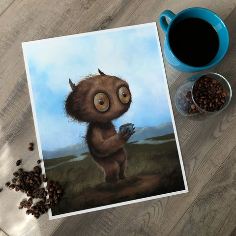 Bold Brew (Limited Edition Print, by Dan May)