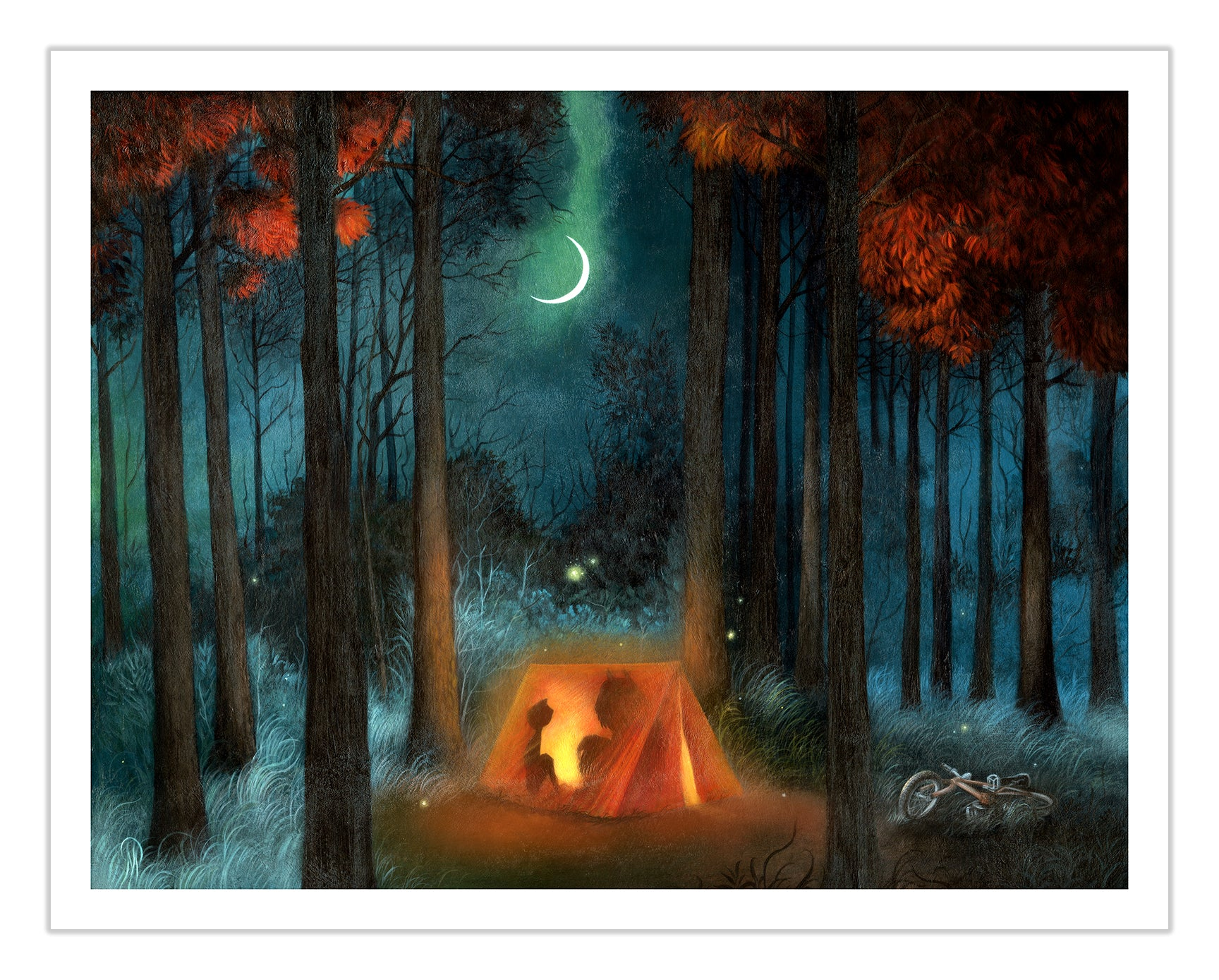 Campout (Limited Edition Print, by Dan May)