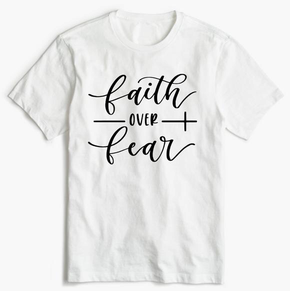 Christian T-Shirt - Faith over Fear