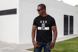 Christian T-Shirt - GOD is LIT. BLACK TEE