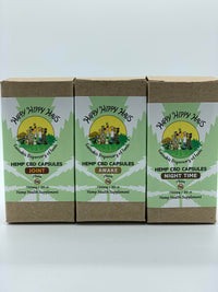 25mg Hemp CBD Capsules Happy Hippy Haus