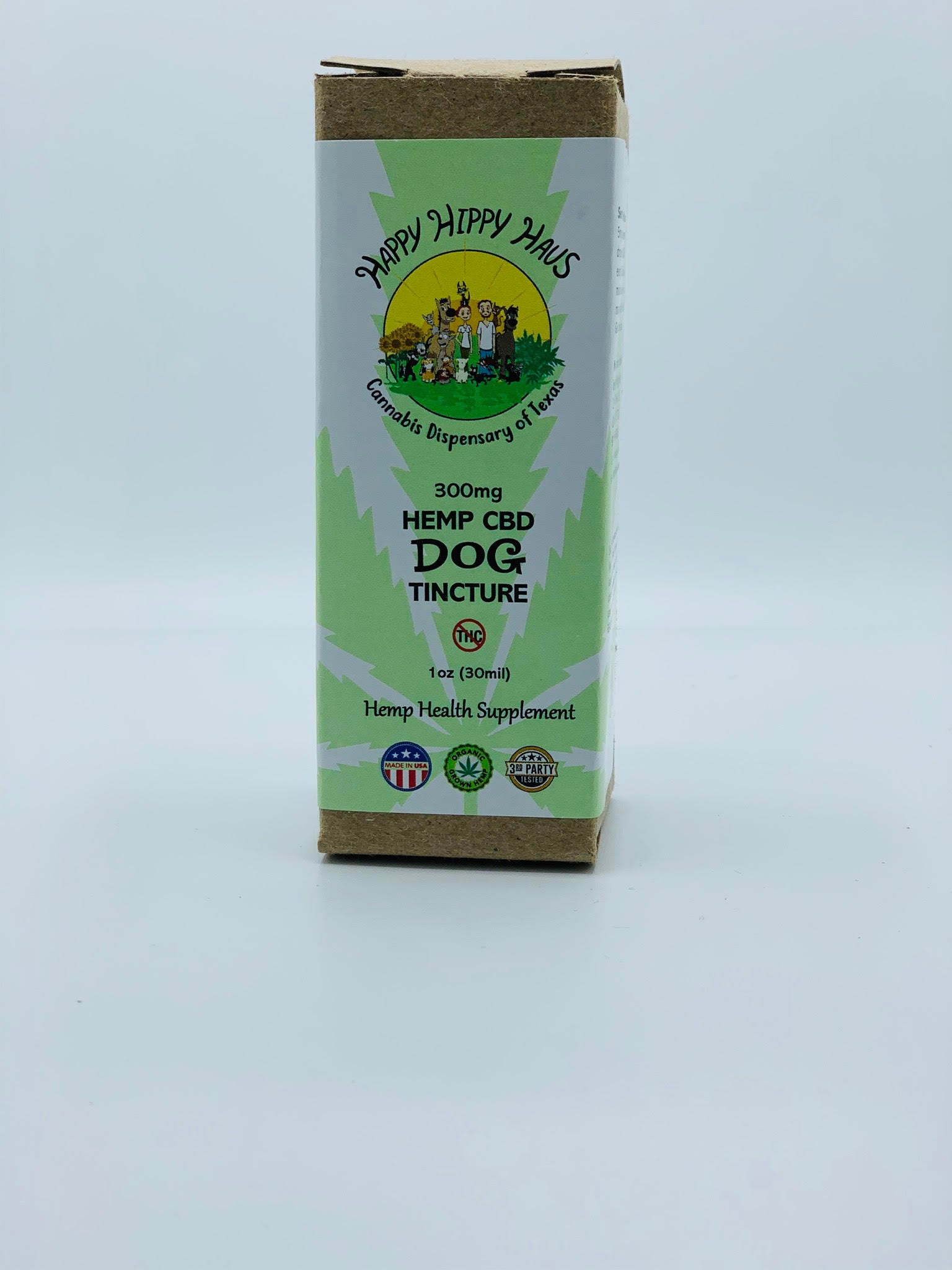 300mg Hemp CBD Dog Tincture