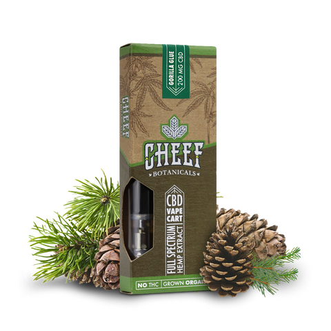 Cheef Botanicals CBD Cartridges 400mg