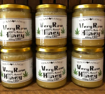 Texas Range Very Raw CBD Honey 450mg