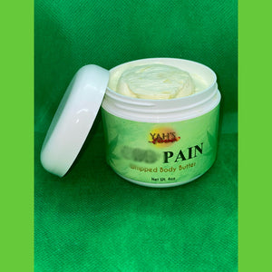 Natural Pain Relief Whipped Body Butter 4oz