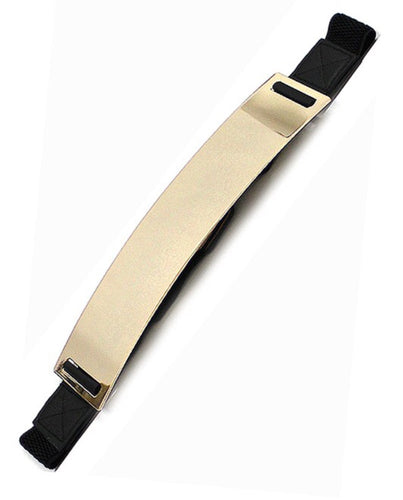 Black gold belt - Modestapparels