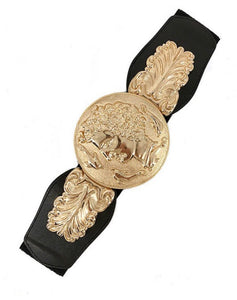 Romans gold and black belt