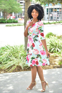 SoFlo Dress - Modestapparels