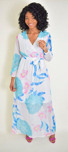 Shiffon beach Dress 1 - Modestapparels