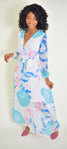 Shiffon beach Dress 1