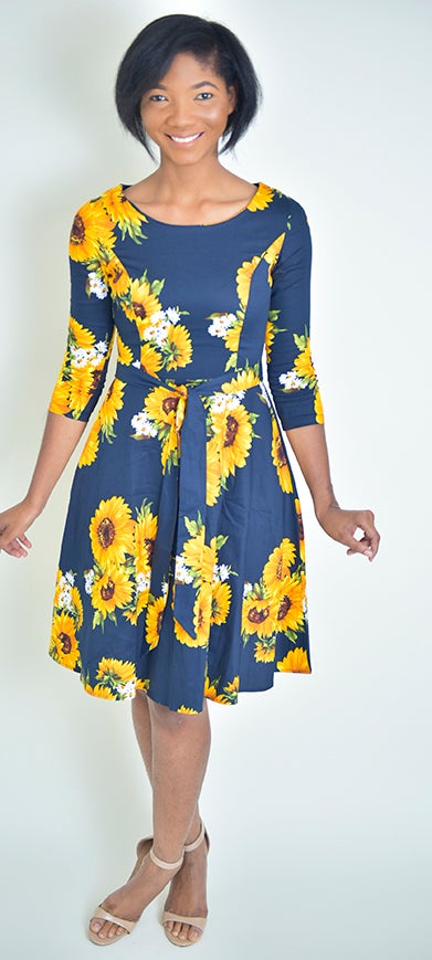 Lotus Dress - Modestapparels