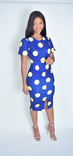 Polka Dot me Dress - Modestapparels