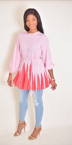 Cute Pink Top - Modestapparels