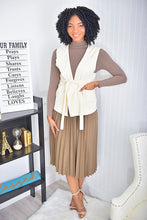Load image into Gallery viewer, 3 piece set  ( Mocha skirt and top, nude jacket)