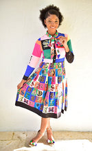 Load image into Gallery viewer, Living in Color Bowtie Dress