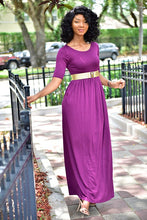 Load image into Gallery viewer, Purple Rain Dress - Modestapparels