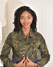 Load image into Gallery viewer, Army fatigue Jacket -high quality - Modestapparels