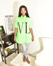 Load image into Gallery viewer, Neon green top - Modestapparels