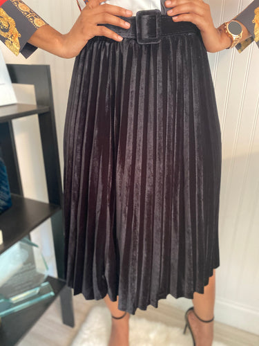 Black rush skirt - Modestapparels