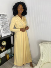 Load image into Gallery viewer, Cream maxi dress - Modestapparels