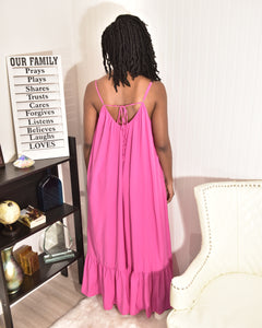 Pink Sunny Dress - Modestapparels